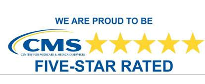 We are proud to be CMS Five-star rated
